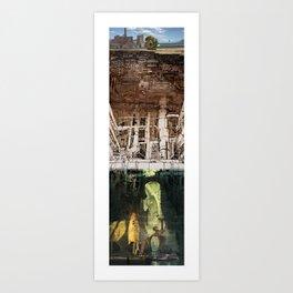 Mochila: Ground Underground II Art Print