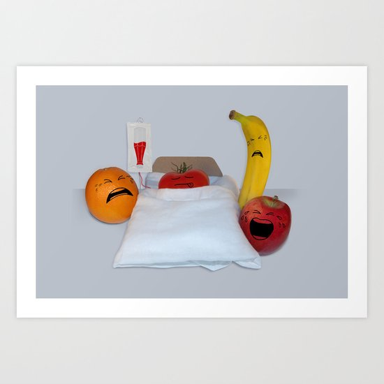 I'm Sorry He's A Vegetable Art Print