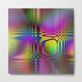 Psychedelic Frequencies Metal Print