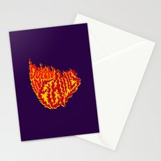 Down in Flames Stationery Cards