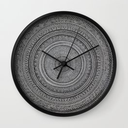 Primordial Chakra Wall Clock