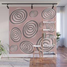 Swirls - Mid-Century-Modern Wall Mural