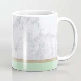 MINT MARBLE GOLD Coffee Mug