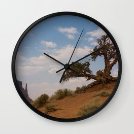 Monument Tree Wall Clock