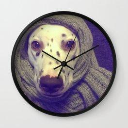 Diva Dalmatian Wall Clock