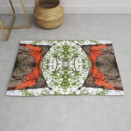 Mirror, Mirror in The Woods Rug