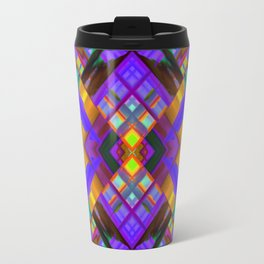 Colorful digital art splashing G480 Travel Mug