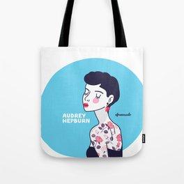 Audrey Hepburn II Tote Bag