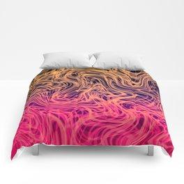Warped Linear2 Warm Comforters