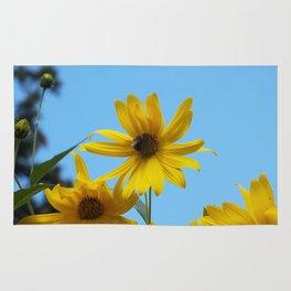 The Golden Sunflower Rug
