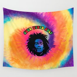 Good Vibes only, Marley vibes. Wall Tapestry