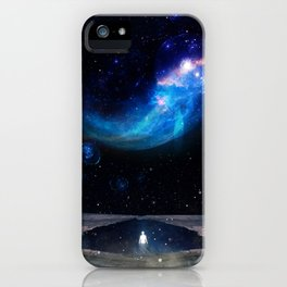 A WORLD OF MYSTERY iPhone Case