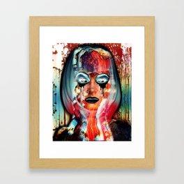 Radiation Girl Framed Art Print