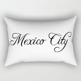 Mexico City Rectangular Pillow