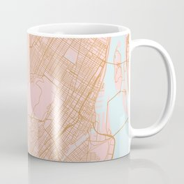 Montreal map, Canada Coffee Mug