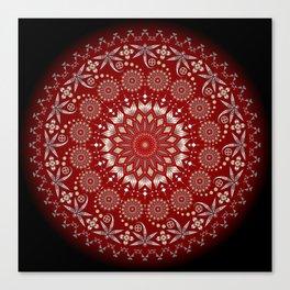 Ancestors (Red) Canvas Print
