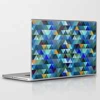 crystal Laptop & iPad Skins featuring Crystal by Marcelo Romero