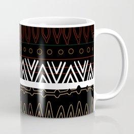 Dark Tribal Pattern Coffee Mug