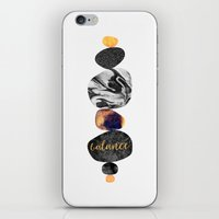 balance iPhone & iPod Skins featuring Balance by Elisabeth Fredriksson