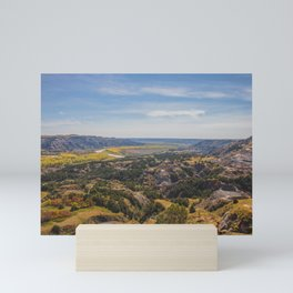Badlands, Theodore Roosevelt NP, ND 3 Mini Art Print