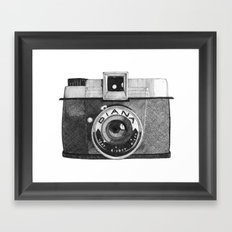 diana camera Framed Art Print