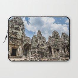 Bayon Temple, Angkor Thom, Cambodia Laptop Sleeve