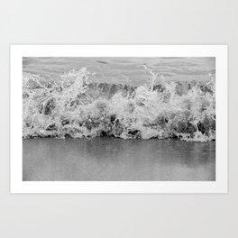 Tiny Splash Art Print
