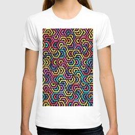 Seamless Colorful Geometric Pattern XXIV T-shirt