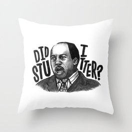 Stanley | Office Throw Pillow