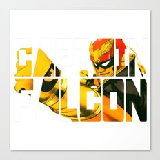 Captain Falcon Canvas Print