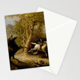 John Quidor Legend of Sleepy Hollow Headless Horseman Pursuing Ichabod Crane 1858 Stationery Cards