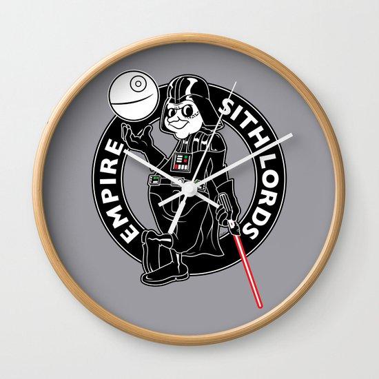 Lord of the Swish Wall Clock