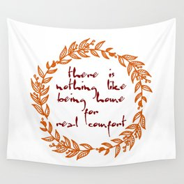 Jane Austen quote Wall Tapestry