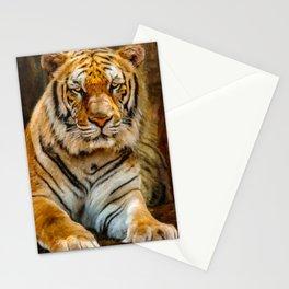 Tiger Art Stationery Cards