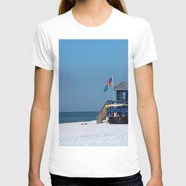 Siesta Key Lifeguard Station T-shirt