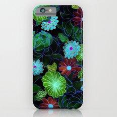 Oriental blossom (night version) iPhone 6s Slim Case