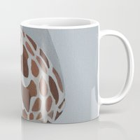 shells Mugs featuring Shells by Marjolein