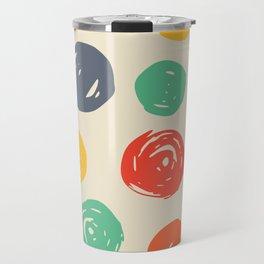 Colorful circles Travel Mug
