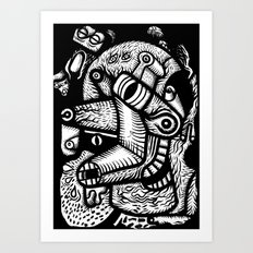Dali #1 - the print Art Print