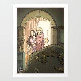 A modern St George Art Print