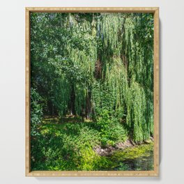 Weeping Willow Tree Serving Tray