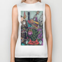 Sid Squish and the Death Collectors Biker Tank
