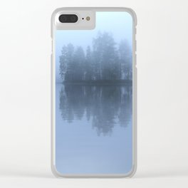Blue Reflection On The Lake Clear iPhone Case
