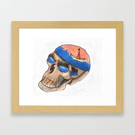 Sea-risk Framed Art Print
