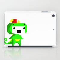 fez iPad Cases featuring Rawr played Fez by Leilei Pan