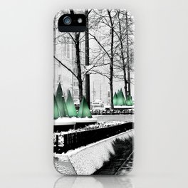Christmas in Chicago iPhone Case