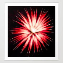 Geometric Firework 13 Art Print
