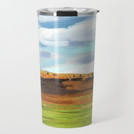Farming Plain Travel Mug