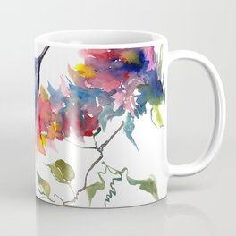 Hummingbird, tropical Foliage, Hawaiian design, tropical, colors Coffee Mug