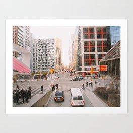 Toronto Art Print